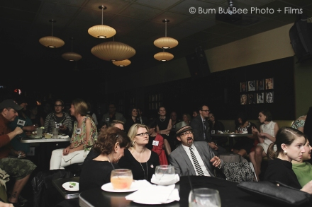 The room was packed for the Season 5 premier. Photo credit: Ashbey Riley, Bum Bul Bee